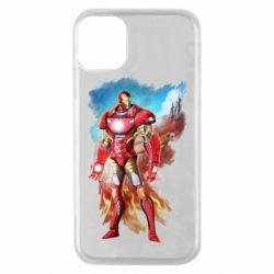 Чохол для iPhone 11 Pro Avengers iron man drawing