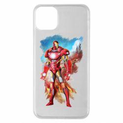 Чохол для iPhone 11 Pro Max Avengers iron man drawing