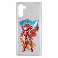Чохол для Samsung Note 10 Avengers iron man drawing