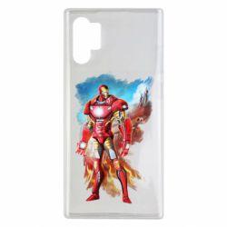 Чохол для Samsung Note 10 Plus Avengers iron man drawing