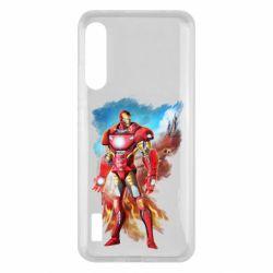 Чохол для Xiaomi Mi A3 Avengers iron man drawing