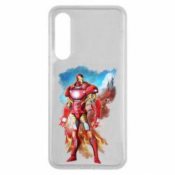 Чохол для Xiaomi Mi9 SE Avengers iron man drawing