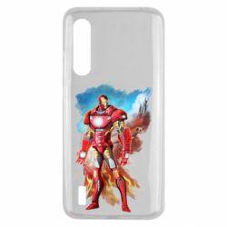 Чохол для Xiaomi Mi9 Lite Avengers iron man drawing