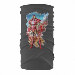 Бандана-труба Avengers iron man drawing