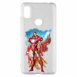Чохол для Xiaomi Redmi S2 Avengers iron man drawing