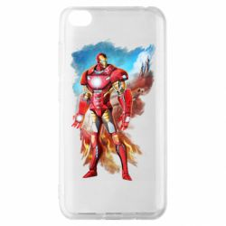 Чохол для Xiaomi Redmi Go Avengers iron man drawing