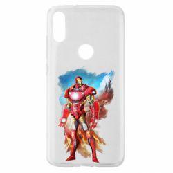 Чохол для Xiaomi Mi Play Avengers iron man drawing