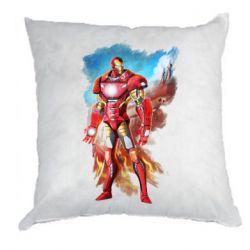 Подушка Avengers iron man drawing