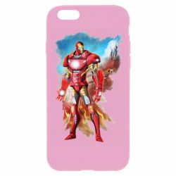 Чохол для iPhone 6/6S Avengers iron man drawing