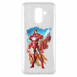 Чохол для Samsung A6+ 2018 Avengers iron man drawing