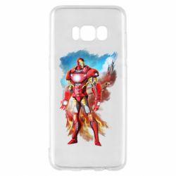 Чохол для Samsung S8 Avengers iron man drawing