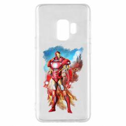 Чохол для Samsung S9 Avengers iron man drawing