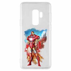 Чохол для Samsung S9+ Avengers iron man drawing