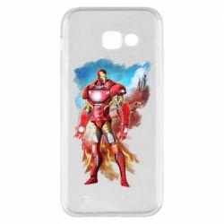 Чохол для Samsung A5 2017 Avengers iron man drawing