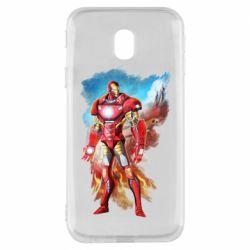 Чохол для Samsung J3 2017 Avengers iron man drawing