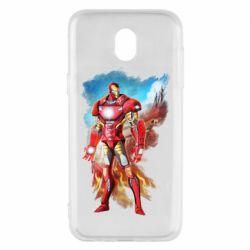 Чохол для Samsung J5 2017 Avengers iron man drawing