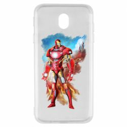 Чохол для Samsung J7 2017 Avengers iron man drawing
