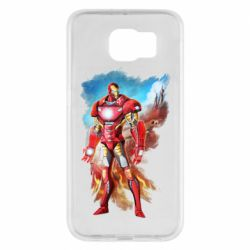 Чохол для Samsung S6 Avengers iron man drawing