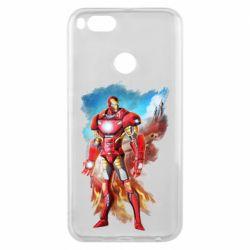 Чохол для Xiaomi Mi A1 Avengers iron man drawing