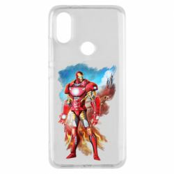 Чохол для Xiaomi Mi A2 Avengers iron man drawing