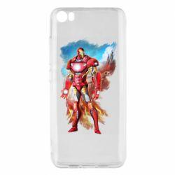 Чохол для Xiaomi Mi5/Mi5 Pro Avengers iron man drawing