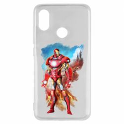 Чохол для Xiaomi Mi8 Avengers iron man drawing