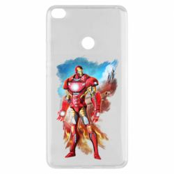 Чохол для Xiaomi Mi Max 2 Avengers iron man drawing