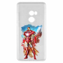 Чохол для Xiaomi Mi Mix 2 Avengers iron man drawing
