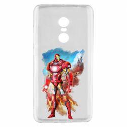 Чохол для Xiaomi Redmi Note 4 Avengers iron man drawing