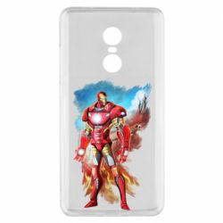 Чохол для Xiaomi Redmi Note 4x Avengers iron man drawing