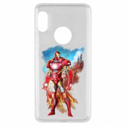 Чохол для Xiaomi Redmi Note 5 Avengers iron man drawing