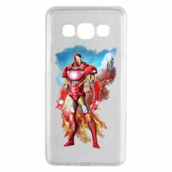 Чохол для Samsung A3 2015 Avengers iron man drawing