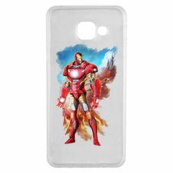 Чохол для Samsung A3 2016 Avengers iron man drawing