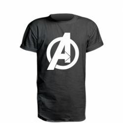 Подовжена футболка Avengers logo