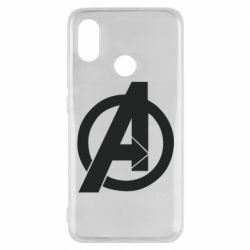 Чехол для Xiaomi Mi8 Avengers logo