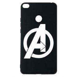 Чехол для Xiaomi Mi Max 2 Avengers logo