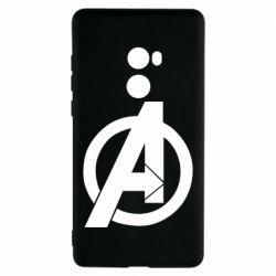 Чехол для Xiaomi Mi Mix 2 Avengers logo
