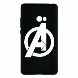 Чехол для Xiaomi Mi Note 2 Avengers logo