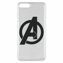 Чехол для Xiaomi Mi Note 3 Avengers logo