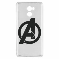 Чехол для Xiaomi Redmi 4 Avengers logo