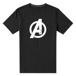 Чоловіча стрейчева футболка Avengers logo