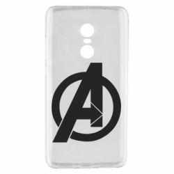 Чехол для Xiaomi Redmi Note 4 Avengers logo