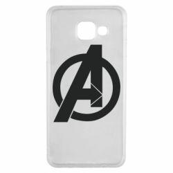 Чохол для Samsung A3 2016 Avengers logo