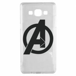 Чохол для Samsung A5 2015 Avengers logo