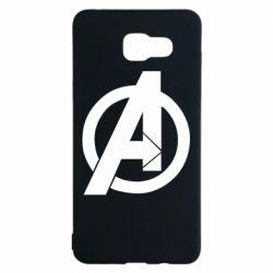 Чохол для Samsung A5 2016 Avengers logo