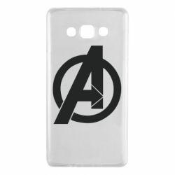 Чохол для Samsung A7 2015 Avengers logo