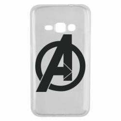 Чохол для Samsung J1 2016 Avengers logo