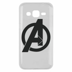 Чохол для Samsung J2 2015 Avengers logo