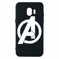 Чохол для Samsung J2 2018 Avengers logo