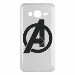 Чохол для Samsung J3 2016 Avengers logo